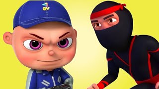 Catching Thief And More Police & Thief Episodes   Zool Babies Series  Cartoon Animation For Children