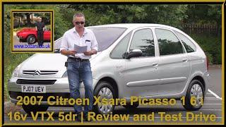2007 Citroen Xsara Picasso 1 6 i 16v VTX 5dr | Review and Test Drive