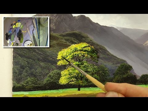 #43 How To Paint A Tree In Oil | Oil Painting Tutorial