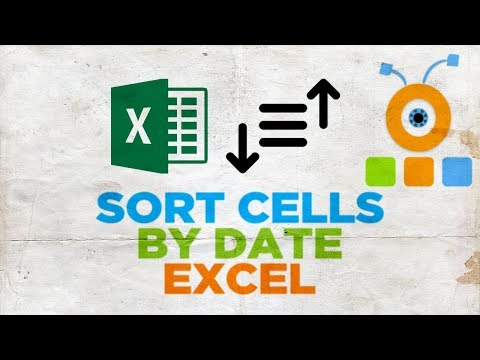 How to Sort Cells by Date in Excel