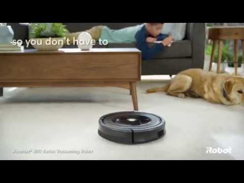 Roomba® 800 Series Wi-Fi Connected Vacuuming Robot