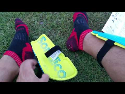 Unboxing: Sondico Shinies - Budget football/soccer shin guards from Sportsdirect.com