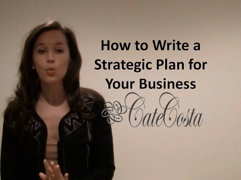 How to Create a Strategic Plan for Your Startup or Small Business