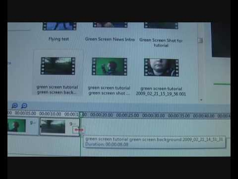 Green Screen Tutorial for Windows Movie Maker!