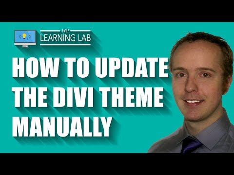How To Update Divi 3.0 Theme - Manually Update Premium Themes