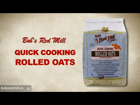 Quick Cooking Rolled Oats | Bob's Red Mill