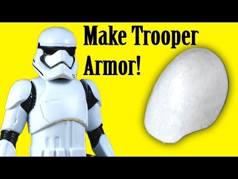 How to Make Stormtrooper Armor - Shoulders (DIY)