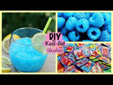DIY Kool aid Slushie