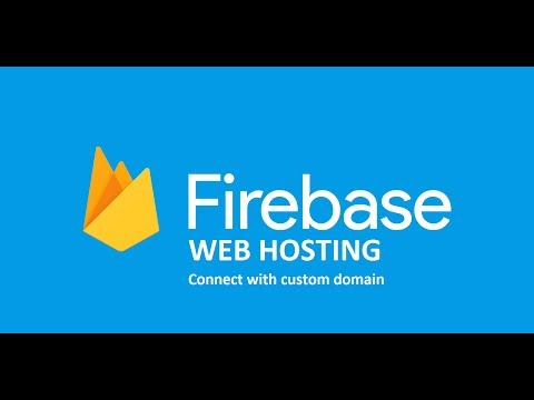How to Firebase web hosting and connect with custom goDaddy domain tutorial