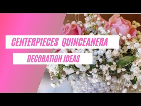 35+ Elegant Centerpieces Quinceanera Decoration Ideas