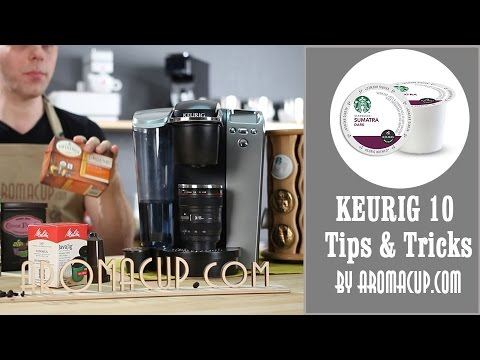 10 Tips Every Keurig Coffee Maker Owner Should Know