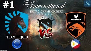 Liquid vs TnC #1 (BO3) The International 2019