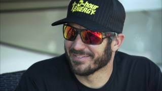 Exclusive 1-on-1 with Martin Truex Jr.