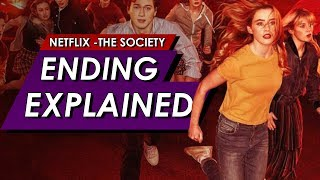 The Society: Netflix: Season 1: Ending Explained Spoiler Talk Review + Where Did Everyone Go?