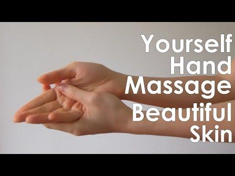 YOURSELF HAND MASSAGE BEAUTIFUL SKIN: นวดมือด้วยตัวเอง มือสวยไม่แห้งกร้าน #iHealthiness