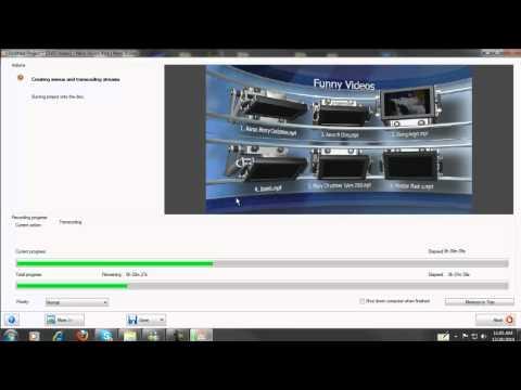 Nero 10 Suite HD 2010  Burning DVD (Nero Vision 10).mp4