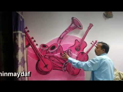 Ganpati Thermocol Decoration creative art