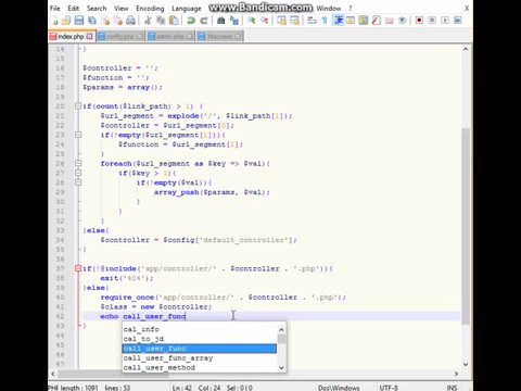 Create OOP PHP Framework MVC for 80 minutes Part 3