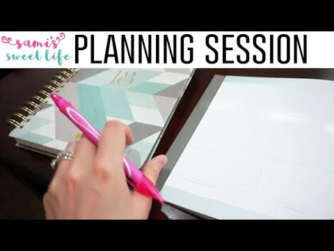 PLANNERS | Time Blocking Productivity Mini Planning Session