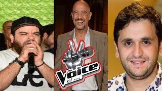"""ذا فويس """" The Voice """" على طريقة نجوم تياترو مصر ... #تياترو _ مصر"""
