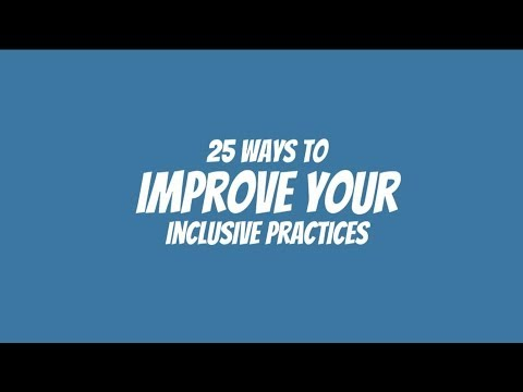 ISTE 18   25 Inclusive Practices Promo Video