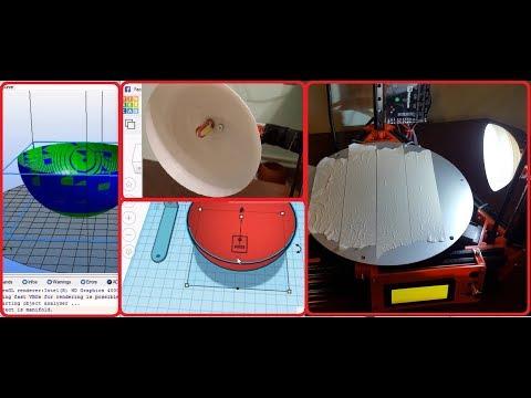 Homemade simple DIY LAMP for 3D Printer