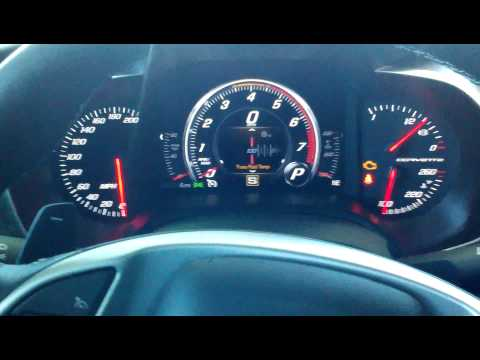 How to view tire temperature on 2014 stingray