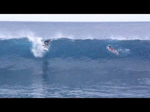 Surfing Samoa. Upolu and savaii