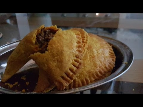 Jamaican patty / Nigerian meat pie - The filling