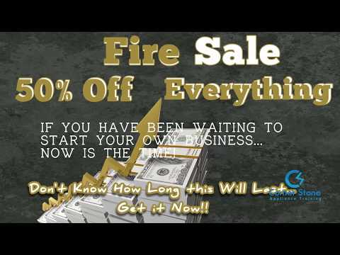 Appliance Repair Training Courses - Fire Sale 50% Off  Everything