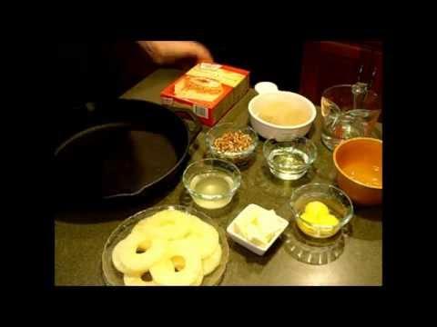 Cast Iron Skillet Pineapple Upsidedown Cake