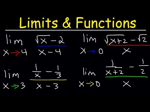 Limits of Rational Functions - Fractions and Square Roots