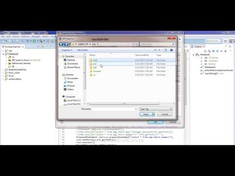 learn how to connect Sql server To Jdbc in Eclipse