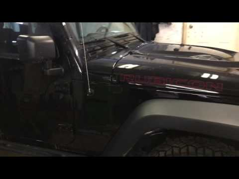 Jeep Wrangler shift knob removal how to
