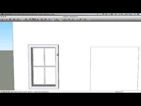 How to Make Realistic Windows on SketchUp