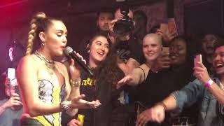 Miley Cyrus Nothing Breaks Like a Heart live in Heaven Night Club London 07/12/18