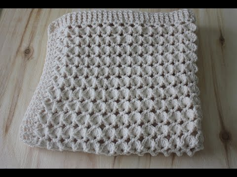 How to Crochet Rosa's Marshmallow Shell Stitch