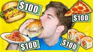 TASTING EXPENSIVE FOODS