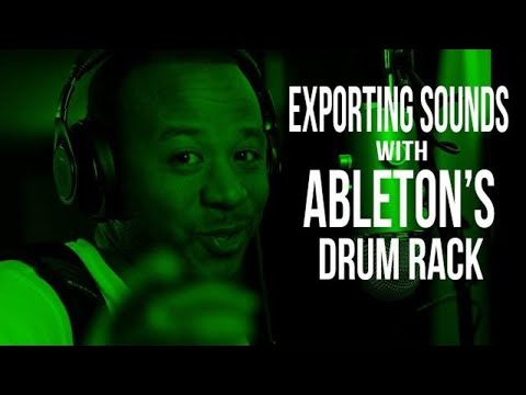 How to Export Separate Sounds in the Ableton Drum Rack