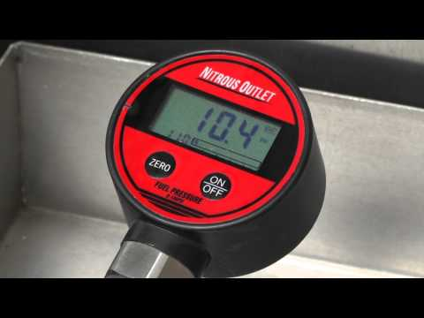 Nitrous Outlet Digital Fuel Flow Gauge