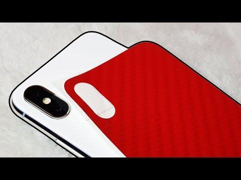 How to Wrap iPhone X! No More Fingerprints!
