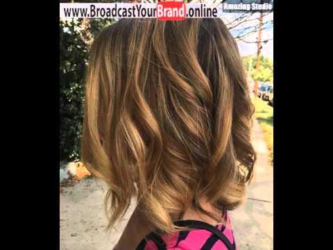 Medium Light Golden Brown Hair With Dark Roots