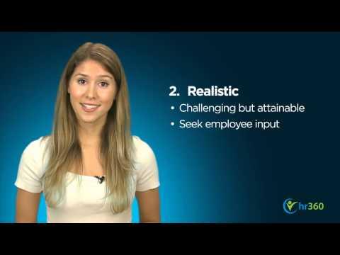 Setting Employee Goals