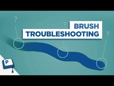 Troubleshooting the Photoshop Brush Tool