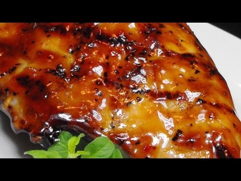 Glazed Chicken Thighs - Chicken Recipes