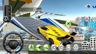 3D Driving Class #13 Flying Over the City! Car Games Android Gameplay