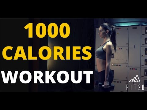 How to burn 1000 calories a day ?