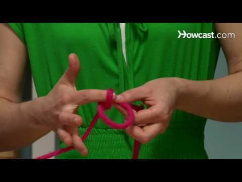 How to Tie a Slip Knot for Knitting