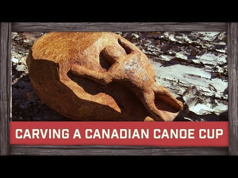 Carving a Canoe Cup for Felix Immler & Giveaway