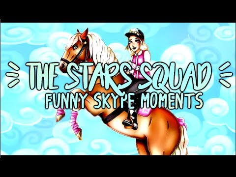 Star Stable - Club Skype Call Funny Moments - The Stars Squad